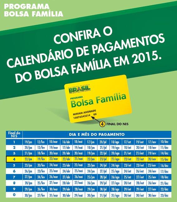 calendario bolsa familia